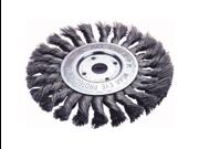 """Knotted Wheel Brush, 6"""" Diameter"""