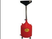 18-Gallon Poly Portable Oil Drain