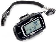 Ozeri PD4X3-2 Razor Digital Pocket 3D Pedometer with Bosch Tri-Axis Technology