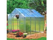 Monticello 8ftx4ft Greenhouse Extension - Aluminum
