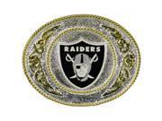 Large Oakland Raiders Belt Buckle