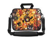 "Orange Symbol 16"" 17"" 17.3"" 17.6"" inch Laptop Shoulder Bag Sleeve Case for Apple MacBook pro 17/Dell Inspiron 17R XPS Alienware M17x/Samsung 700/Sony Vaio E/HP dv7 ENVY 17/Asus G74 K73 N75 A93"