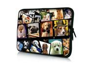 "Many Dogs 14"" 14.4"" inch Notebook Laptop Case Sleeve Carrying Bag for Lenovo Y480/ASUS A43 N46 X84/Samsung 530 Q470/DELL Inspiron 14R Vostro 1450/HP DV4/Thinkpad E420"
