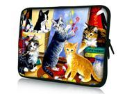 """Many Cats 11.6"""" 12.1"""" inch Notebook Laptop Case Sleeve Carrying Bag for Google 11.6"""" Chromebook/DELL E6230 XT2 XPS Duo/Samsung 350U 400B/ASUS B23/HP 4230S/TOSHIBA U920T"""