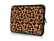 "Camouflage Leopard 14"" 14.4"" inch Notebook Laptop Case Sleeve Carrying Bag for Lenovo Y480/ASUS A43 N46 X84/Samsung 530 Q470/DELL Inspiron 14R Vostro 1450/HP DV4/Thinkpad E420"