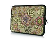 "Classical Flower 14"" 14.4"" inch Notebook Laptop Case Sleeve Carrying Bag for Lenovo Y480/ASUS A43 N46 X84/Samsung 530 Q470/DELL Inspiron 14R Vostro 1450/HP DV4/Thinkpad E420"