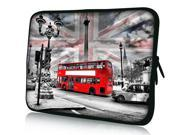 """Red Bus 14"""" 14.4"""" inch Notebook Laptop Case Sleeve Carrying Bag for Lenovo Y480/ASUS A43 N46 X84/Samsung 530 Q470/DELL Inspiron 14R Vostro 1450/HP DV4/Thinkpad E420"""