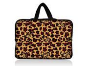 """Camouflage Leopard 11.6"""" 12.1"""" inch Notebook Laptop Case Sleeve Carrying bag with Hide Handle for Google 11.6"""" Chromebook/DELL E6230 XT2 XPS Duo/Samsung 350U 400B/ASUS B23/HP 4230S/TOSHIBA U920T"""
