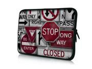 """Traffic Signs 14"""" 14.4"""" inch Notebook Laptop Case Sleeve Carrying Bag for Lenovo Y480/ASUS A43 N46 X84/Samsung 530 Q470/DELL Inspiron 14R Vostro 1450/HP DV4/Thinkpad E420"""