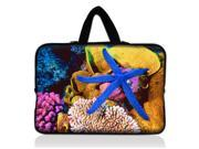 "Blue Starfish 13"" 13.3"" inch Notebook Laptop Case Sleeve Carrying bag with Hide Handle for Apple Macbook pro 13 Air 13/Samsung 530 535U3/Dell XPS inspiron 13/ ASUS/SONY SD4/ThinkPad X1 E330"