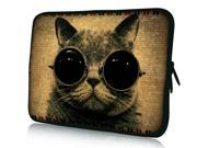 """Cool Cat Sunglasses 14"""" 14.4"""" inch Notebook Laptop Case Sleeve Carrying Bag for Lenovo Y480/ASUS A43 N46 X84/Samsung 530 Q470/DELL Inspiron 14R Vostro 1450/HP DV4/Thinkpad E420"""