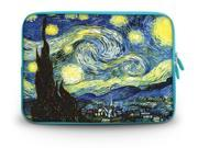 """17.1"""" 17.3"""" inch Laptop Bag Sleeve Case for Apple MacBook pro 17/Dell Inspiron 17R Alienware M17x/Samsung 700 Sony Vaio E 17/HP dv7 ENVY 17/Asus G74 K73 N75 A93 The Starry Night"""
