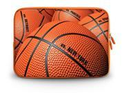 """17.1"""" 17.3"""" inch Laptop Bag Sleeve Case for Apple MacBook pro 17/Dell Inspiron 17R Alienware M17x/Samsung 700 Sony Vaio E 17/HP dv7 ENVY 17/Asus G74 K73 N75 A93 3D Basketball"""