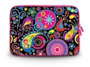 """17.1"""" 17.3"""" inch Laptop Bag Sleeve Case for Apple MacBook pro 17/Dell Inspiron 17R Alienware M17x/Samsung 700 Sony Vaio E 17/HP dv7 ENVY 17/Asus G74 K73 N75 A93 Colorful Paisley"""