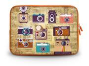 "17.1"" 17.3"" inch Laptop Bag Sleeve Case for Apple MacBook pro 17/Dell Inspiron 17R Alienware M17x/Samsung 700 Sony Vaio E 17/HP dv7 ENVY 17/Asus G74 K73 N75 A93 Cartoon Camera"