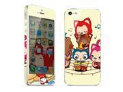 For Apple iPhone 5 Skins CuteFox Full Body Decals Protector Stickers Covers - MAC1208-116