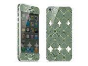 For Apple iPhone 5 Skins Geometric patterns Full Body Decals Protector Stickers Covers - MAC1208-170