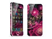 For Apple iPhone 5 Skins Red Rose Full Body Decals Protector Stickers Covers - MAC1208-71
