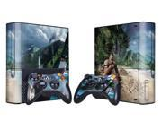 For Microsoft Xbox 360 E Skins Console Stickers Personalized Games Decals Wiht Controller Protector Covers - BOX1330-203