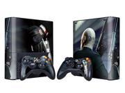 For Microsoft Xbox 360 E Skins Console Stickers Personalized Games Decals Wiht Controller Protector Covers - BOX1330-121