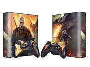 For Microsoft Xbox 360 E Skins Console Stickers Personalized Games Decals Wiht Controller Protector Covers - BOX1330-186
