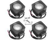 10W LED Off Road Working Light Fog Light Lamp LD187C (4-Pack)