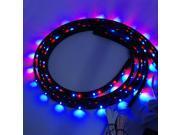 2x 90cm x 120cm RGB LED Undercar Underbody Neon Strip Car Body Glow Light LD299