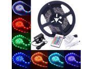 LED Strip Fairy Light 5M 300 SMD 3528 RGB Tape Ribbon 12V + Free IR Remote LD343