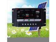 USB 20A Solar Controller Regulator Charge Battery Protection CE Certify LD358