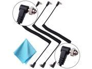XCSOURCE® 3pcs Male to Male PC Sync Flash Cable with Screw Lock for Trigger Camera LF543