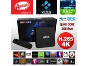 XCSOURCE® M8S Quad Core Latest HD FULLY LOADED Android TV Box WiFi + KODI (XBMC) UK AH022