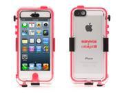 Griffin Waterproof Pink/Clear Survivor Case + Catalyst for iPhone 5/5s