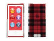 Griffin Exposed Plaid Transparent Case for iPod nano (7th gen.)   Hard-shell transparent case with bold graphics