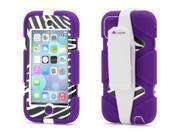 Griffin Purple/Zebra Survivor All-Terrain Protective Case for iPod touch (5th/ 6th gen.)   Extreme-duty case