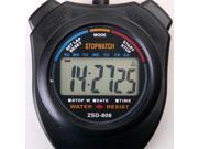 New Sport Chronograph Digital Stopwatch Wristwatch Clock Alarm Counter Timer