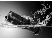 Waterproof Mini UltraFire 7W 400lm CREE Q5 LED Flashlight Zoomable Tactical Torch Light 3 MODE AA/14500