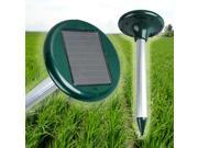 Solar Power Multi Pulse Ultrasonic Repeller Pest Rodent Repellent Yard Garden