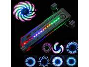 16 LED Cycling Bike Bicycle Wheel Light Valve Accessory Tire Flash Light w/ 32 Changes