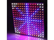 225 LED Blue Red Orange White Plant Grow Light Panel Hydroponic Lamp 14W Indoor