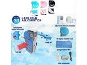 Black USB Mini Portable HandHeld Air Conditioner Cooler cooling fan