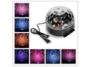 DMX512 Disco DJ Digital Stage Light  Lighting LED RGB Crystal Magic Ball Effect Voice  Remote Control Lamp