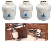 3 pc Details about  Bathroom Bath Shower Head Filter Faucet Softener Remove Chlorine Water Purifier