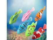 6Pcs Popular Kids Child Children Gift Robo Fish Clownfish Electric Pet Fish Toy Fishing Game Set