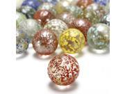 "20X 5/8"" Colorful Glass Marbles Bead BeadingFor Toy Game Play Gift Fish Aquarium Indoor Decoration"