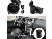 New Portable Travel Black Hard Plastic Car Auto Use Cigarette Ashtray Cup Holder