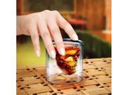 Crystal Skull Head Vodka Wine Beer Whiskey Bottle Cup Mug Glass Drink Drinking Cup Ware 2.5 oz 75ml