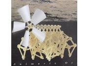 Wind Powered DIY Walking Walker Mini Strandbeest Assembly Model Kits Robot Toy