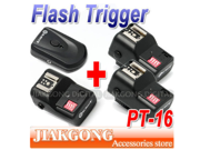 DSLRKIT PT-16 16 Channels Wireless Radio Flash Trigger SET with 3 Receivers