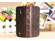 Retro Book Wallet Stand Leather Case For Samsung Galaxy S4 I9500