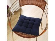 Soft Handmade Square Dining Chair Seat Pad Filled Ties Cushion Decor 40 X 40cm